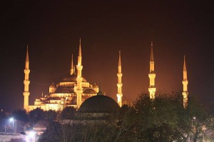 The Istanbul Blue Mosque