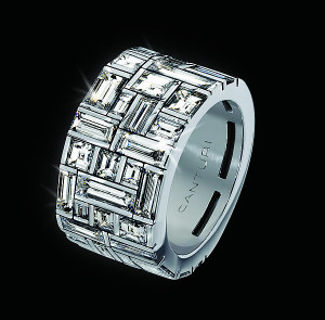 Cubism Diamond Signature Ring by Stefano Canturi