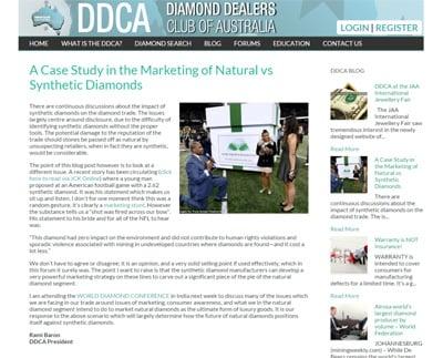 DDCA synthetic diamond blog post