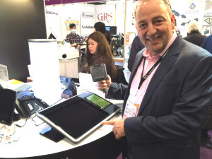 Rami Baron trying out Myndar Technology