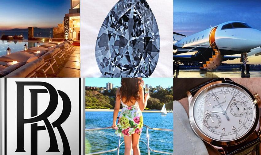 Luxury collage