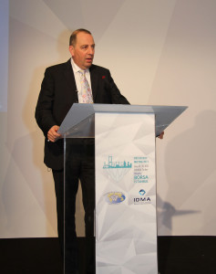 Rami Baron Speaking at the 2013 WFDB Presidents Meeting in Turkey
