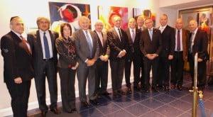 WFDB Executives in London
