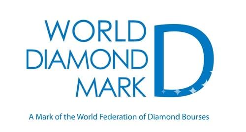 World Diamond Mark Logo
