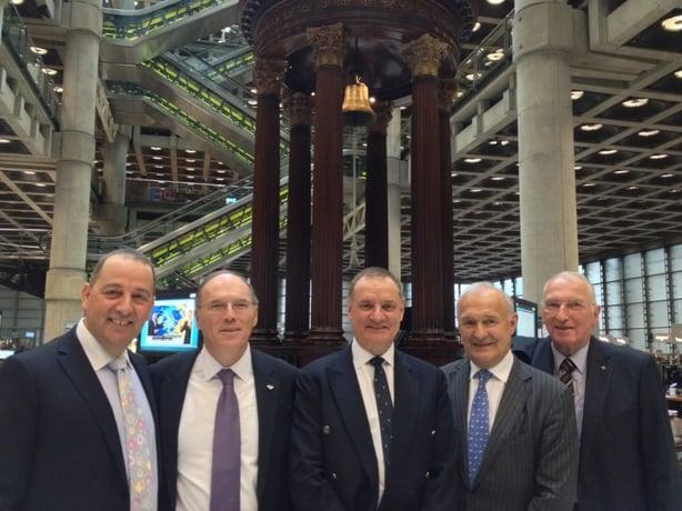 WFDB Executives at Lloyd's of London